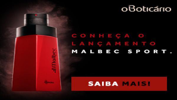 O Boticário apresenta Malbec Sport