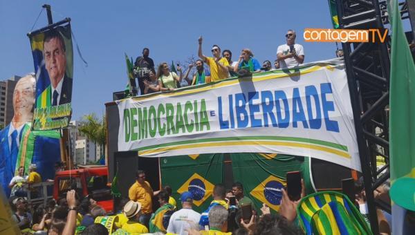 7 de Setembro com protestos pró e contra o presidente Jair Bolsonaro