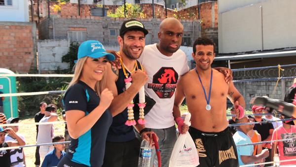 Muay Thai Contagem Fight revela uma nova geração de lutadores