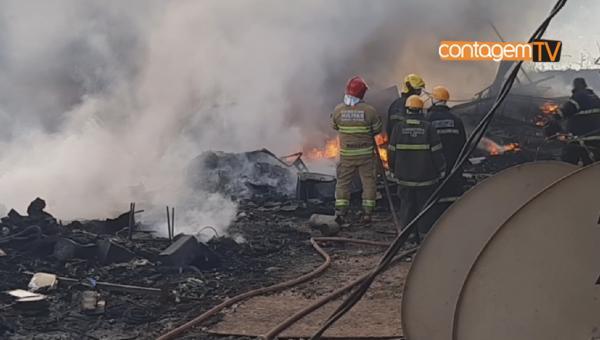 Incêndio no bairro Morada Nova, assusta moradores