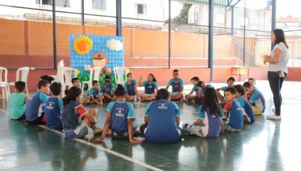 Festa do Dia das Crianças na Associação Crescer