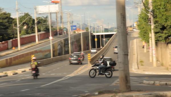 Desrespeito às leis de trânsito em Contagem
