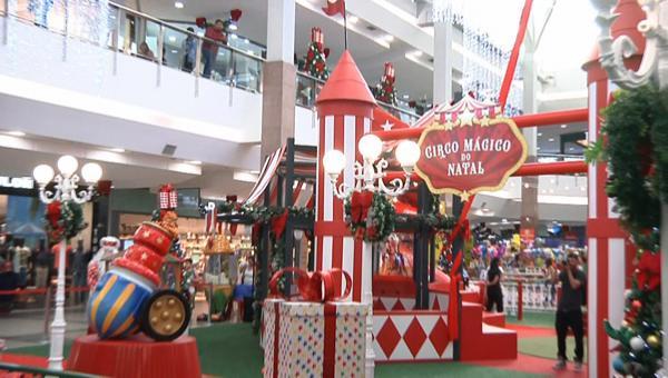 Circo Mágico do Natal já chegou ao ItaúPower Shopping
