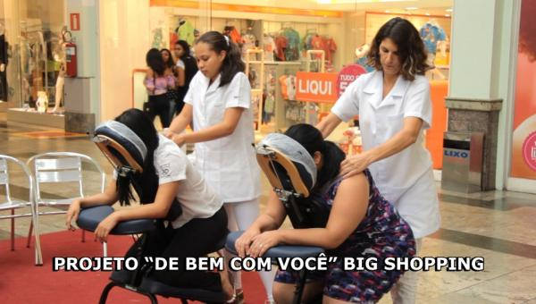 Big Shopping presenteia as mulheres