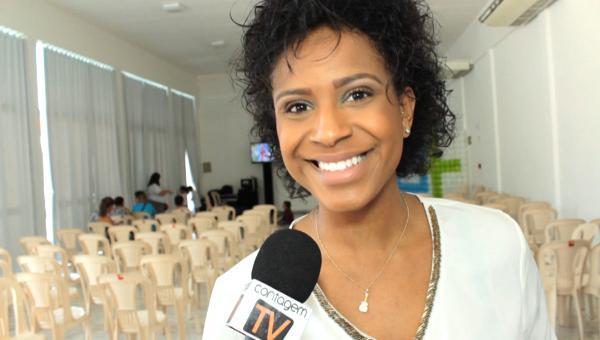 Thais Moreira pede o apoio dos contagenses