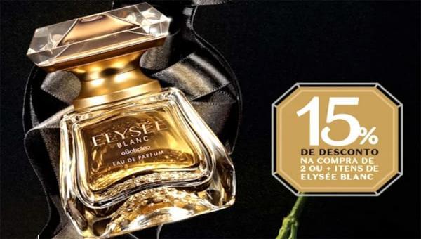 Chegou Elysée Blanc, o novo Eau de Parfum do Boticário