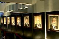Inauguração da galeria de ex-presidentes do CIEMG