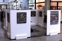 Exposição 'Temas Cotidianos' no Big Shopping