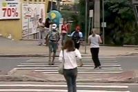Em Contagem, pedestre não tem vez