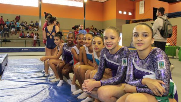 Campeonato Mineiro de Ginástica de Trampolim em Contagem
