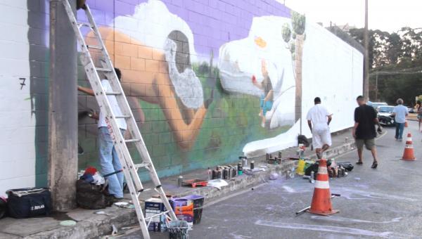 Festival de Grafite ItaúPower Shopping