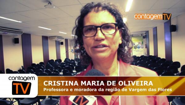 Entrevista com a professora Cristina Maria de Oliveira
