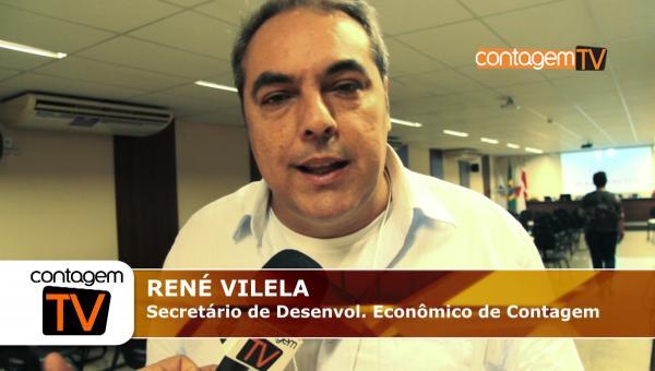 Entrevista com o sec. de Desenv. Econômico, Renê Vilela