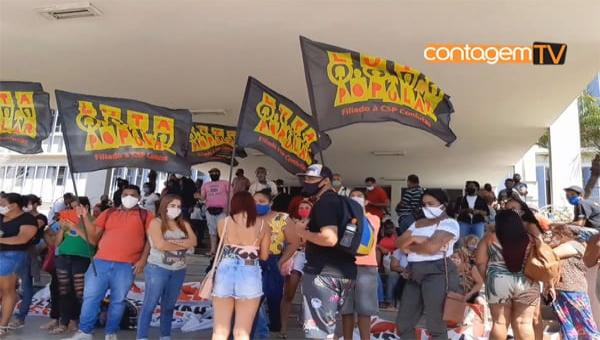 Bolsa moradia é motivo de protestos em Contagem