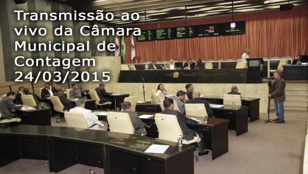 Câmara Municipal de Contagem AO VIVO