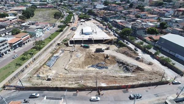 Obras das bacias de contenção serão retomadas