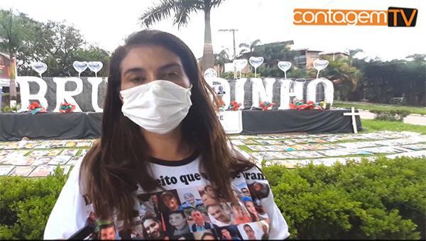 Entrevista com irmã de uma das vítimas da Mineradora Vale