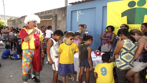 Dia das Crianças do Projeto Social Mucuri