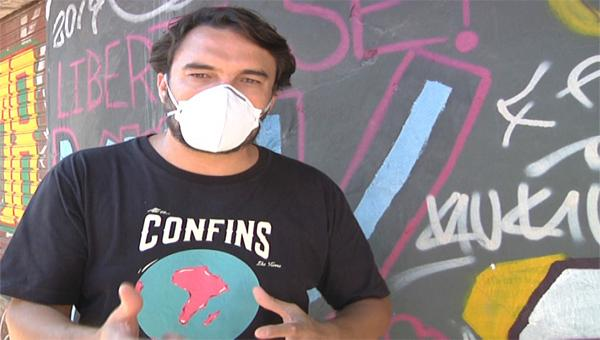 Ativistas sociais na linha de frente da fome