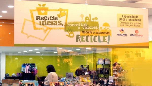 Projeto Reciclart Criando Arte