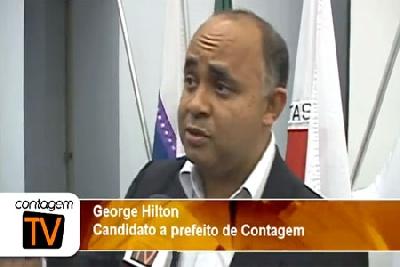 George Hilton é sabatinado pelos empresários de Contagem