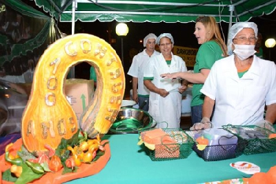 MATÉRIA ESPECIAL - Festival das Abóboras lota a Praça da Glória