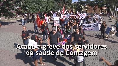 Acaba a greve dos servidores da saúde de Contagem