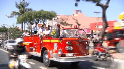 Festa de São Cristóvão mobiliza o setor de transporte de Contagem
