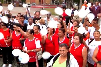 DIA NACIONAL DO IDOSO REUNE A MELHOR IDADE DE CONTAGEM