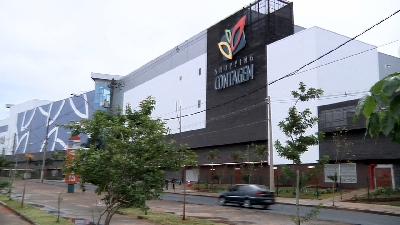 SHOPPING CONTAGEM É INAUGURADO DENTRO DO PREVISTO