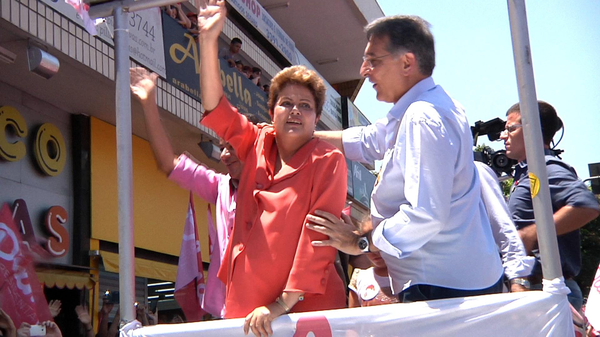 Presidenta Dilma vem à Contagem atrás dos votos dos indecisos